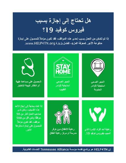 Family_sick leave flyer in Arabic.pdf