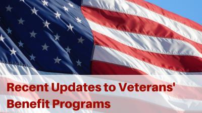 Recent Updates to Veterans' Benefit Programs - HELP4TN Blog