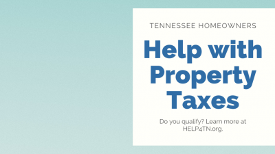 Tennessee Property Tax Relief Program - HELP4TN Blog
