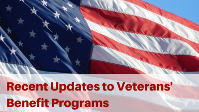 Recent Updates to Veterans' Benefit Programs - HELP4TN Blog